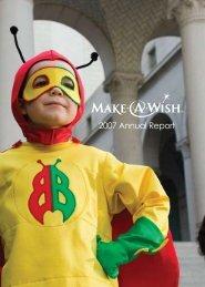 2007 Annual Report - Make-A-Wish Foundation