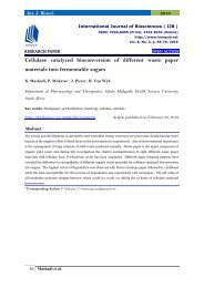 Cellulas catalyzed bio conversion of different waste paper materials into ferment able sugars | By P. Mokatse