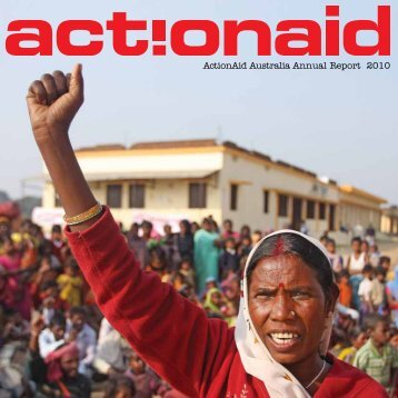 ActionAid Australia Annual Report 2010