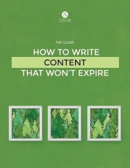 How to Write Content that Won't Expire
