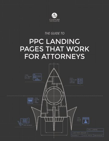 PPC Landing Pages that Work for Attorneys