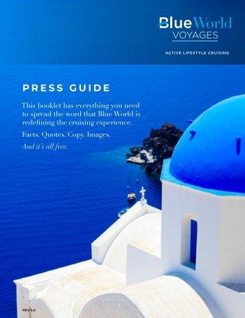 Blue World Voyages Press Guide