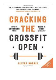 eBook Cracking the CrossFit Open How to Outperform Your Peers in Every Workout Free online
