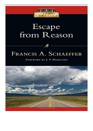 eBook Escape from Reason IVP Classics Free online
