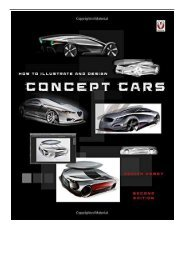 eBook How to illustrate and design Concept Cars New Edition Free eBook
