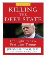 eBook Killing the Deep State The Fight to Save President Trump Free books
