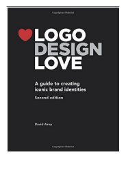 eBook Logo Design Love A Guide to Creating Iconic Brand Identities 2nd Edition Free eBook