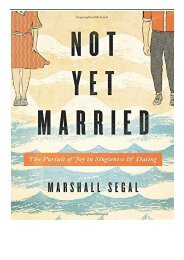 eBook Not Yet Married The Pursuit of Joy in Singleness and Dating Free eBook