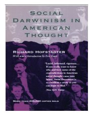 eBook Social Darwinism in American Thought Free books