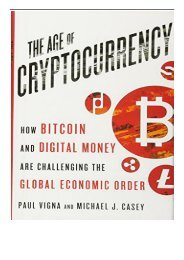cryptocurrency paul vigna