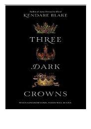 eBook Three Dark Crowns Free online