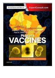 PDF Download Plotkin's Vaccines 7e Free online