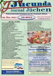 Ausgabe 12 2011 b - Jucunda