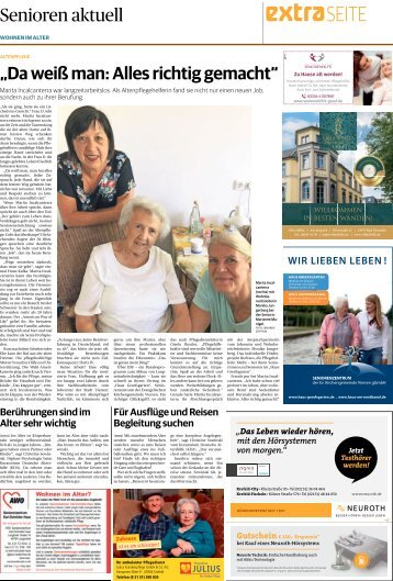 Senioren aktuell  -08.06.2018-