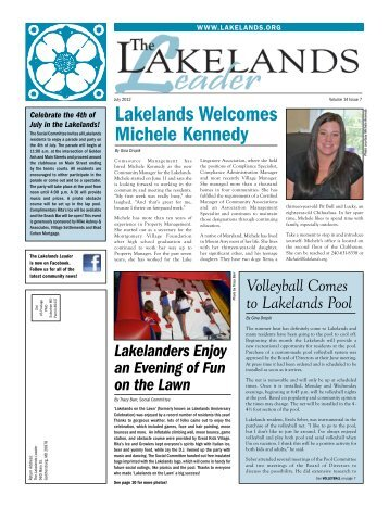 Lakelands Leader, July 2012