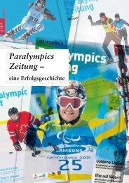 Paralympics Zeitung – - panta rhei Beratungsgesellschaft für ...