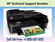 HP  Technical Support Number