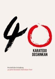 40 Jahre Doshinkan