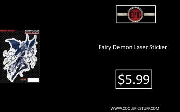 Fairy Demon Laser Sticker - Epic Vision LLC