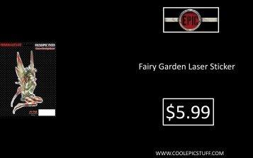 Fairy Garden Laser Sticker - Epic Vision LLC