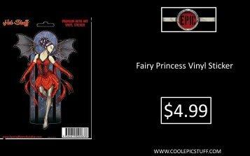 Fairy Princess Vinyl Sticker - Epic Vision LLC