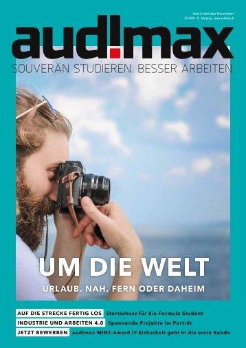 audimax campus 7_8/2018: Dein Hochschulmagazin
