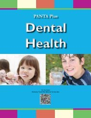 PANTA Plus - Kentucky: Cabinet for Health and Family Services