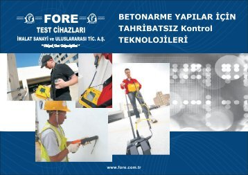 Fore-NDT Catalog(2013)(Tr)