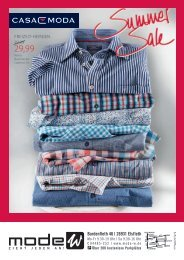 Casa Moda Summer Sale Prospekt