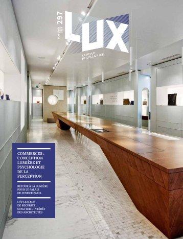 LUX 297 - LUX, la revue de l'éclairage (Mai -Juin 2018)