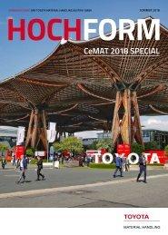 Hochform CeMAT 2018 Special