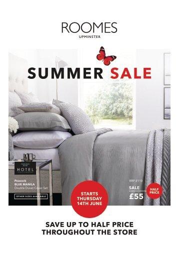 Roomes Summer Sale 2018