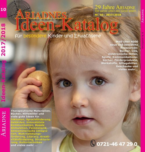 5438314a62a3c3 Ariadnes Ideenkatalog 2017/2018