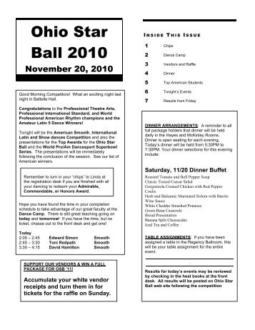 Ohio Star Ball 2010 - Youth Ballroom Dance Academy