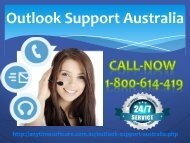 Outlook Support Australia 1-800-614-419 |Helpful Service
