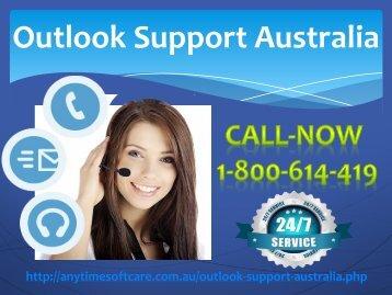Outlook Support Australia 1-800-614-419 |Helpful Service