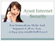 Avast Internet Security +1-844-393-0508