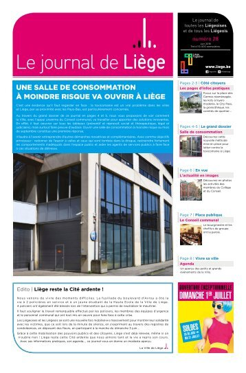 Votre Journal de Liège de juin 2018