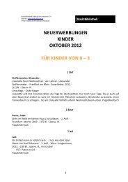 NW-Kinder OKT 2012 - Stadt Salzburg