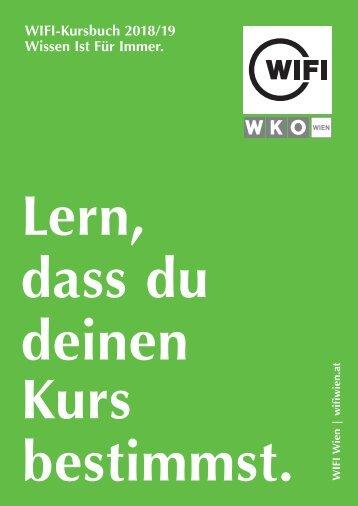 WIFI Wien Kursbuch 2018/19