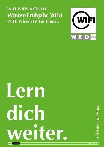WIFI Wien Info Exclusiv - Winter/Frühjahr 2018