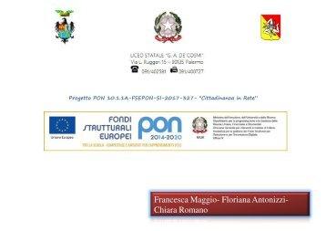Pon Liceo De Cosmi 2018 - Antonizzi, Maggio, Romano