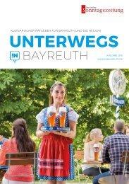 Unterwegs in Bayreuth 2018