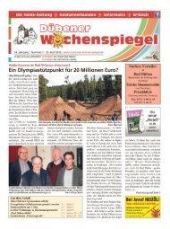 Dübener Wochenspiegel - Ausgabe 07 - 20_04_2016