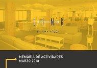 Memoria Marzo 2018