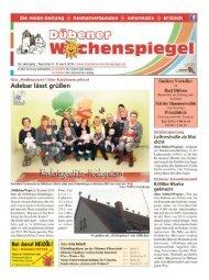 Dübener Wochenspiegel - Ausgabe 06 - 06_04_2016