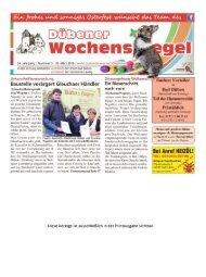 Dübener Wochenspiegel - Ausgabe 05 - 23_03_2016