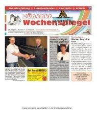 Dübener Wochenspiegel - Ausgabe 04 - 02_03_2016