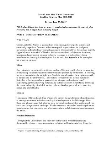 Strategic plan - Leopold Center for Sustainable Agriculture - Iowa ...