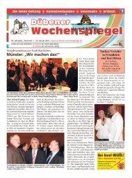Dübener Wochenspiegel - Ausgabe 01 - 20_01_2016